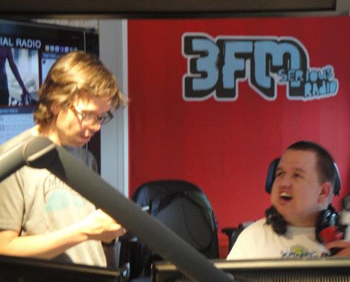 kinderdroomwens Alex naar 3FM