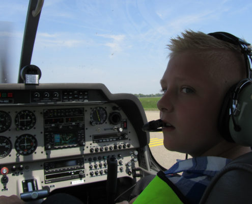 kinderdroomwens Julian vliegt
