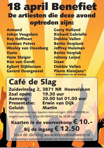 Poster Benefietconcert